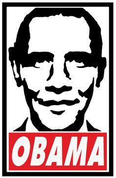 Obama. Bienal del Cartel Bolivia BICeBé® 2013
