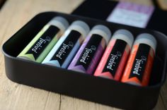 Like a blu-ray box set, but for lip balm addicts, by Brooke of @FirebirdBathBody in Baltimore.