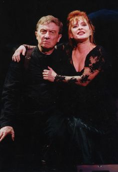 Patti Lupone with George Hearn in Sweeney Todd 2000 with The New York Philharmonic