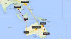 Hong Kong, Thailand, Bali & Australië