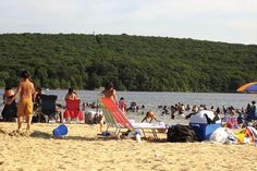 Lake Welch Beach at Harriman State Park