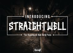 Straightwell (Font) by sipanji figuree · Creative Fabrica Modern Serif Fonts, Slab Serif Fonts, Font Digital, Friends Font, Script Logo, Free Fonts Download, Pattern Drawing, Premium Fonts, All Fonts