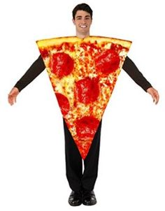 Forum Mens Pizza Costume -- Food costumes are so funny! You can entertain anyone with this halloween costume.