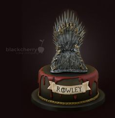 Game of Thrones - Iron Throne - Cake by Little Cherry