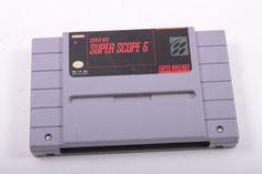 Super NES Nintendo Scuper Scope 6 Tested Works Cartridge Only Vintage Video Game Super Nintendo  The Pink Room  161009 by ThePinkRoom