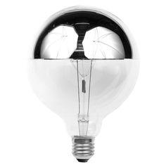 mirror globe bulb - Google Search