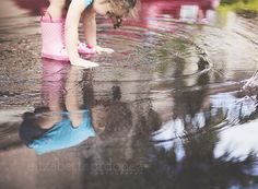 Toddler playing in a puddle, Miami child photography, toddler photo idea, toddler photo inspiration
