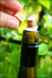 Recycled Wine BottleTorch