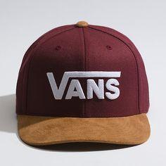 c35abf72d66 Drop V Snapback Hat. Vans