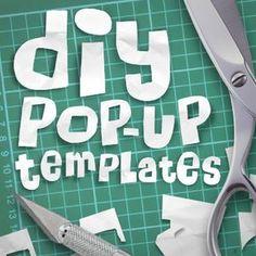 DIY Pop-up templates
