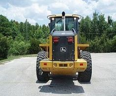 The Deere 544K is wheel loader equipment and has been manufactured in the year 2010. The equipment has been in use since the last couple of years, is in good condition and performs very well in all kinds of industries. This equipment has tier 3 emission certified engine and a unique quad-cool design. machinery