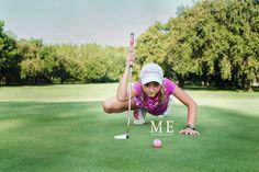 Pink Lady junior golfer