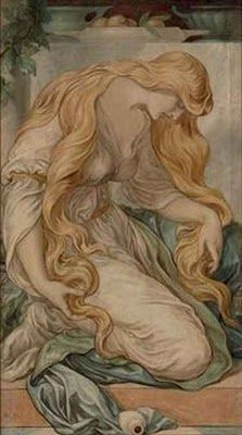 Image detail for -British Paintings: Frederick James Shields - Mary Magdalene