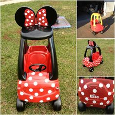 cozy coupe makeover - toy makeover