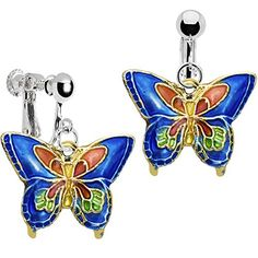 Handcrafted Blue Butterfly Clip Earrings Body Candy http://www.amazon.com/dp/B0030YYS38/ref=cm_sw_r_pi_dp_Bar4vb0R8FXD9
