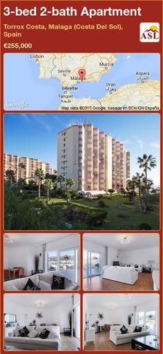 3-bed 2-bath Apartment in Torrox Costa, Malaga (Costa Del Sol), Spain ►€255,000 #PropertyForSaleInSpain