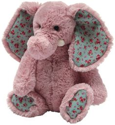 Jellycat Bashful Blossom Daisy Elephant - new from our friends at Jellycat! Isn't she great?
