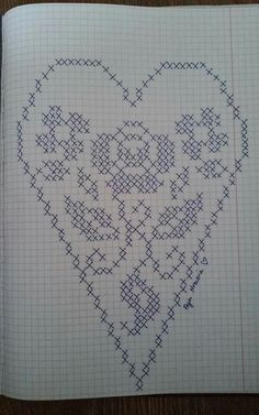 Designing Your Own Cross Stitch Embroidery Patterns - Embr Embroidery Flowers Pattern, Doily Patterns, Cross Stitch Embroidery, Crochet Patterns, Crochet Lace Edging, Thread Crochet, Cross Stitch Designs, Cross Stitch Patterns, Perler Bead Templates