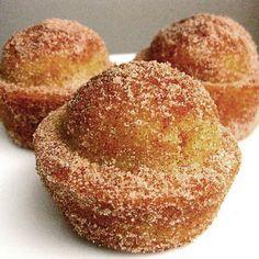 Try Coffee Cake Muffins Crusted with Cinnamon and Sugar! You'll just need 1-3/4 cup flour, 1-1/2 teaspoon baking powder, 1/2 teaspoon salt, 1/2 teaspoon...