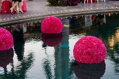 decoracion piscina boda casamenteras