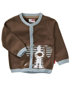 NEWBORN LANDERS KNIT CARDIGAN - NO