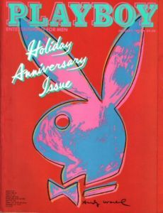 Andy Warhol Pop art for Playboy Magazine.