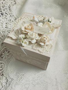 beautiful handmade gift or keepsake box
