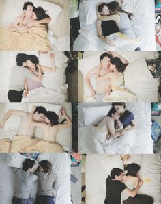 bed, couple, love, mess up, simplicity