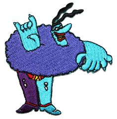 Chief Blue Meanie The Beatles Yellow Submarine by CoolPatches, $5.99