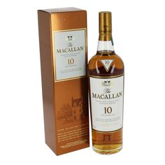 Macallan 10 Year Old Sherry Oak Single Malt Whisky Gift fantastic gift ideas with free delivery direct from www.serendipityhomeinteriors.com
