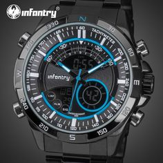 Look what just arrived! Sports Watches LE...              Check it out - http://fashioncornerstone.com/products/sports-watches-led-display-stainless-steel-aviator-wristwatches?utm_campaign=social_autopilot&utm_source=pin&utm_medium=pin
