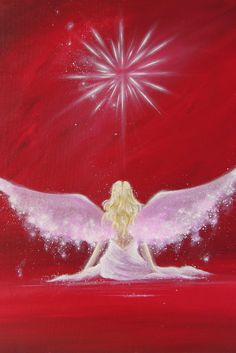 A R T ANGEL ART POSTER Guardian angel painting