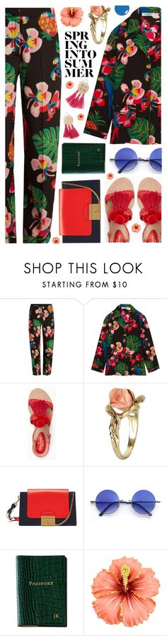 """""""~Spring into summer~"""" by amethyst0818 ❤ liked on Polyvore featuring Valentino, Kate Spade, Vintage, Mulberry, Retrò and Graphic Image"""