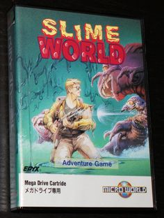 Slime World for Sega Mega Drive #Slime #World #Sega #Mega #Drive #SMD #16bit #Retro #Gaming