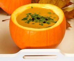 Przepis Zupa krem z dyni z imbirem i mleczkiem kokosowym przez Thermoprzepisy - Widok przepisu Zupy