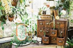 Винтажная фотосессия в стиле Botanic   DiscoverWedding.ru