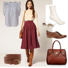 skirt outfit - Google keresés