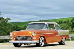 This 1955 Chevrolet Bel Air was nothing to look at before Wes Cassel got a hold of it. Read this Chevy's history in Butterscotch Bel Air.