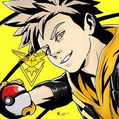 Pokemon Go   Team Leader Spark by bigbrogabe.tumblr.com