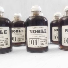 Packaging perfection! Gorgeous pure @noblehandcrafted Maple Syrup.  #bundleandtwine #giftboxes #packagingdesign #design #handcrafted #smallbatch #adelaide #coming2016 #smallbusiness #noblehandcrafted #gourmetfood #gourmethamper
