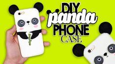DIY | Kawaii Panda Phone Case Tutorial - Cover Panda Kawaii