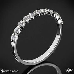 This Diamond Wedding Ring is from the Verragio Insignia Collection. Heart Wedding Rings, White Gold Wedding Rings, Diamond Wedding Rings, Wedding Bands, Wedding Things, Dream Wedding, Wedding Book, Wedding Wishes, Wedding Stuff