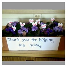 Thank you gifts for teachers or coworkers