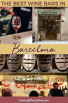 The best wine bars in Barcelona, Spain. Unpretentious bars and bodegas to enjoy a red Rioja, Priorat, or local cava. Great spots to drink and imbibe in the local atmosphere. Written by a local! Barcelona Bars, Barcelona Spain Travel, Barcelona Food, Barcelona Wine Bar, Barcelona Things To Do In, Spain Travel Guide, Spanish Wine, Spanish Food, Wine Online
