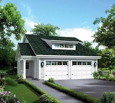 House Plan 95879 | Country   Traditional   Vacation    Plan with 1086 Sq. Ft., 1 Bedrooms, 2 Bathrooms, 2 Car Garage