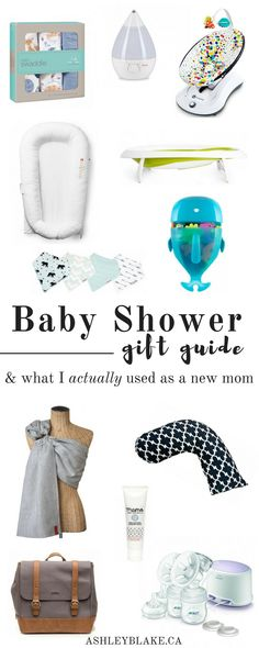Shopping for a baby can be overwhelming. This list of baby shower gift ideas will make sure you have the perfect gift for the expectant mama in your life!