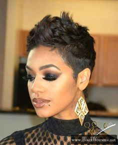 80+ Some bold shaved and pixie hairstyles on black beauties