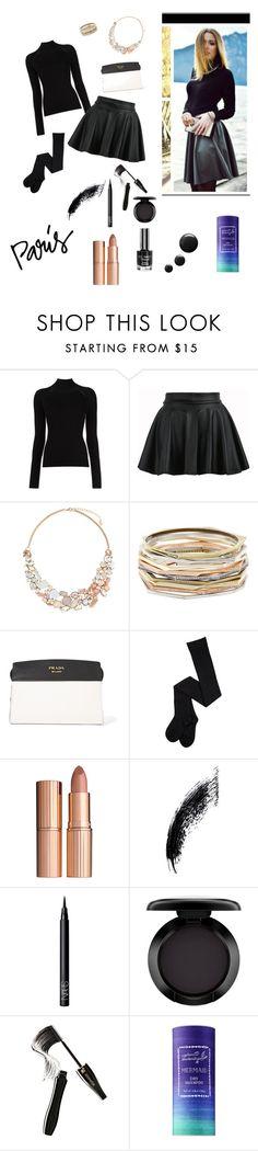 """Paris Fashion Week"" by fashion1stas ❤ liked on Polyvore featuring Misha Nonoo, Accessorize, Kendra Scott, Prada, Charlotte Tilbury, NARS Cosmetics, MAC Cosmetics, Lancôme and Captain Blankenship"