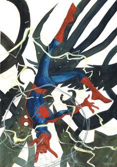 Spider-Man by Tom Fowler More @ https://pinterest.com/ingestorm/comic-art-spiderman-friends & http://groups.google.com/group/Comics-Strips & http://groups.google.com/group/ComicsStrips & http://groups.yahoo.com/group/ComicsStrips & http://www.facebook.com/ComicsFantasy & http://www.facebook.com/groups/ArtandStuff
