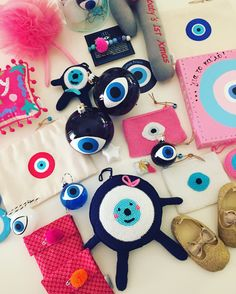 7d15fbdfd42 cotton prince baby ftouftou collection. Greek BlueEvil Eye ...